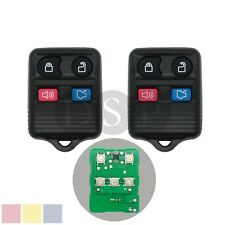 2 New Remote Keyless Entry Replacement fit for Ford Mercury 4 Button Key Fob