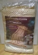 Hanson Textile (1) Backing Cloth To Weave Afghan  Vintage In Pack