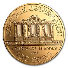 2011 1 oz Gold Austrian Philharmonic Coin