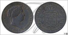 España - Monedas Isabel II- Año: 1864 - numero 00128 - 25 Centimos de Real 1864