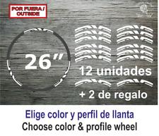 "Sticker Vinilo Decal Vinyl Aufkleber Adesivi ENVE Wheels Llanta Bike Bici 26"""
