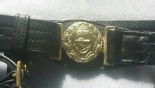 Royal Navy Sword Belt Real Leather for Officers  Heavy Brass fittings and Belt B