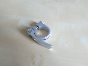 Alu Sattel Schnellspanner Spannhebel Klemmverschluss * hochwertig * 28,6-34,9 mm