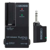 Boss WL-50 Wireless Reciever and WL-T Transmitter FREE 2DAY