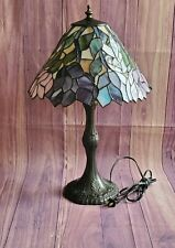 """Meyda Tiffany Multicolored 21"""" H Wisteria Lamp"""