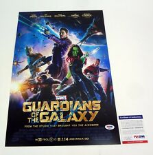 Dave Bautista Guardians of The Galaxy Signed Autograph Movie Poster PSA/DNA COA