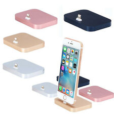 Aluminum Alloy Lightning Dock Base Socle Charging Cradle Station For iPhone