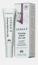 DERMA E  Firming DMAE Eye Lift With Peptides & Vitamin B3 0.5 oz Exp 2/23