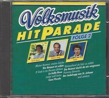 VOLKSMUSIK HITPARADE FOLGE 2 * NEW CD COMPILATION 1991 * NEU *
