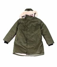The North Face Girl's Jacket Green Size XL (18) Arctic Swirl Down $220- 042