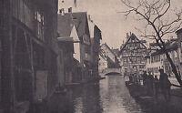 Ulm - Malerischer Winkel - um 1915 oder früher - selten