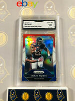 2015 Prizm Matt Forte #95 Red White Blue - 10 GEM MINT GMA Graded Football Card