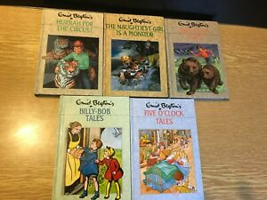 x5 Vintage Enid Blyton Rewards Series Books Numbers 42,44,45,81 & 91  1980,s