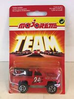 Extremley Rare Red Team Card Majorette 291 Blazer 4x4 Serie 200 Die Cast Model
