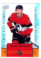 19/20 TIM HORTONS...BRADY TKACHUK...CLEAR CUT PHENOMS...# CC-12...SENATORS