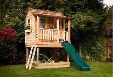 Outdoor Living Today 6X6 Little Cedar Playhouse with Sandbox [LCP66SBOX]