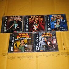 Tomb Raider Game Bundle - Black Label ( Complete )