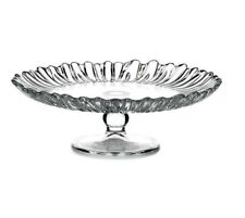 Glass Cake Stand 20cm Smooth Footed Wedding Round Plate Serving Party Pasabahce