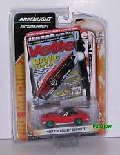 Greenlight Green Machine 1967 Chevrolet Corvette 67 Chevy Zine Series 2 1:64