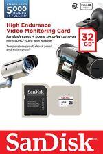SanDisk 32GB Class 10 High Endurance Video Monitoring Micro SDHC Memory Card