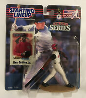 NEW~KEN GRIFFEY JR~CINCINNATI REDS~2000 STARTING LINEUP Figure-EXTENDED SERIES