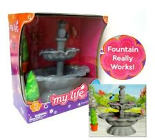 """My Life as Doll Water Fountain 10pc 18"""" Our Gen Doll Real Working Accessory"""