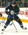 MATHIEU PERREAULT signed WINNIPEG JETS 8X10 PHOTO COA B