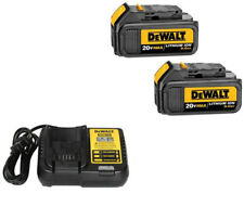 Dewalt Dcb200R 2-Pack 20 Volt Max 20V Li-Ion Batteries & Dcb112R Battery Charger