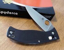 SPYDERCO New D'Allara Folder With Plain Edge CPM-S30V Blade Knife/Knives