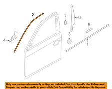 BMW OEM 11-16 535i xDrive Front Door-Window Molding Left 51337182281