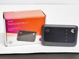 Telstra 4G 4GX Prepaid Mobile Pocket WiFi Modem ZTE MF910Z in Box with SIM Card