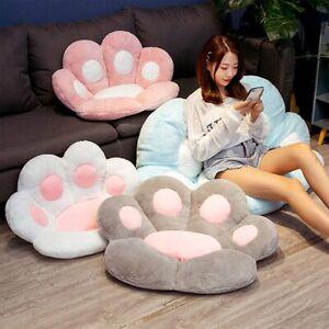 Cat Paw Back Pillows Plush Chair Cushion Animal Seat Cushion Sofa Mat Home Sofa