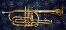 CONET KING TEMPO II #603 WITH HARD CASE KING TEMPO STUDENT CORNET ECLECTIC COOL
