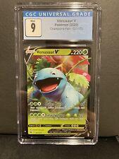 CGC 9 Pokemon Card Venusaur V 001/073 Champions Path Mint Condition