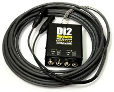 Whirlwind Di2 Direct Box Snake with 15ft Hardwired fan out Di2-015-Bk