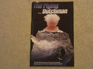 The Flying Dutchman programme ENO English National Opera 1982 with Norman Bailey