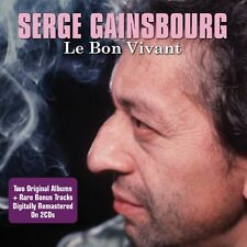 Serge Gainsbourg - Le Bon Vivant - Two Original Albums 2CD NEW/SEALED