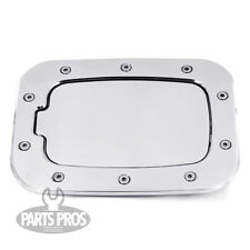 NEW Brushed Non-Locking Gas Fuel Door / FOR FORD F250 F350 SUPERDUTY TRUCK 11-14