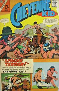 Cheyenne Kid #57 Charlton Comic Silver Age 1966 VG Western