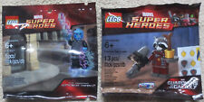 2 LEGO Marvel Super Heroes Polybags #5002125 Electro #5002145 Pocket Raccoon New