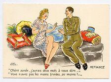 M. Barré & Dayez . JEAN PARIS . Charme militaire. Military Charm. MEFIANCE