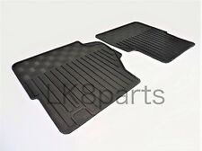 LAND ROVER DEFENDER FRONT FLOOR RUBBER MAT SET LR005039 NEW