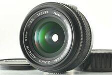 [N.MINT] OLYMPUS OM-SYSTEM ZUIKO AUTO-W 21mm f/3.5 MC Lens Late From JAPAN #202