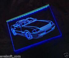 LED faunz Auto Leuchtschild, Gravur für Mercedes Benz SL 500 NEU ©