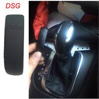 Genuine Real Leather DSG Emblem for VW Golf GTI Jetta Passat Gear Shift Knob