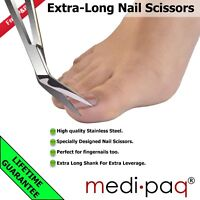 Toe Nail Clippers Scissors Large Reach Long Handled Elderly Chiropody Podiatry
