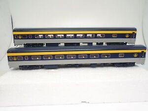 Walthers Ho Smoothside Passenger Coach cars(2), B&O