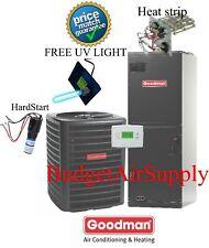 3 ton 14 SEER HEAT PUMP 410a Goodman System GSZ140361+ARUF37D14 UV+Hardstart