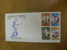 08/06/1986 World Cup: Mexico 1986, First Day Cover - 'Republic Of Maldives World