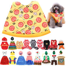 Pets Dogs Christmas Clothes Puppy Cat Cute Coat Xmas Winter Warm Outfit Sweater